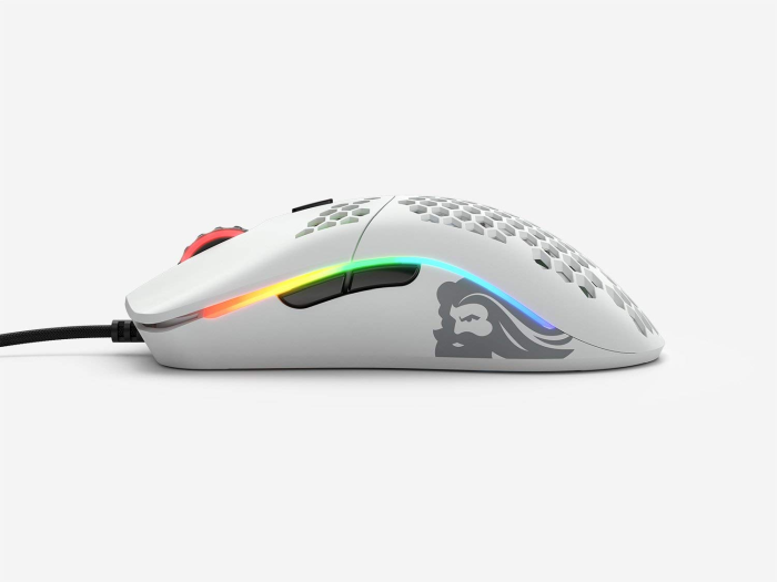 Mouse Glorious Gaming Model O- Minus White Matte (Branco Fosco) - GOM-WHITE