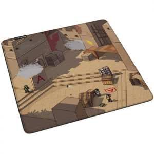 Mousepad Gamer Fallen Mirage Speed Grande 45 x 45 cm