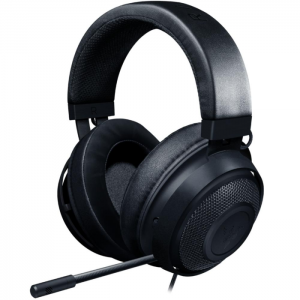 Fone Gamer Razer Kraken Black Multiplataforma PS4/Xbox One/Switch/PC