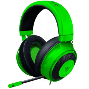 Fone Gamer Razer Kraken Green Multiplataforma PS4/Xbox One/Switch/PC