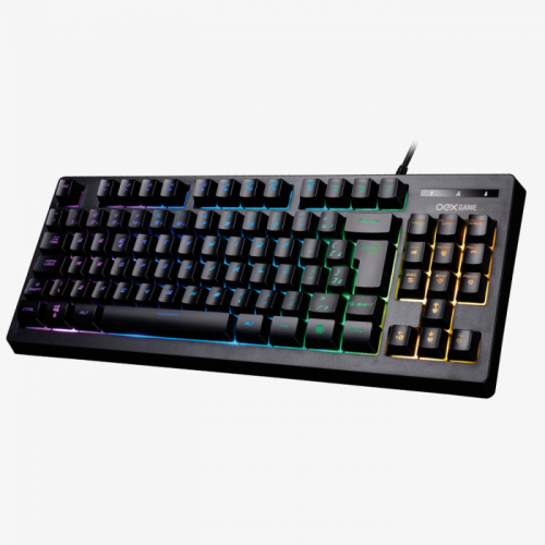 Teclado Gamer OEX Gaming Cobby TC206 11 Cores ABNT2