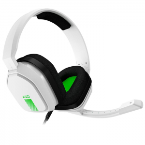 Fone Gamer Astro A10 Headset Branco e Verde - XBOX ONE, PC, PS4, MAC, SWITCH - 939-001854