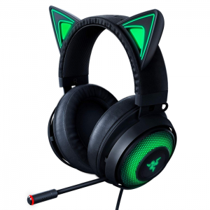 Fone Gamer Razer Kraken Kitty Black Chroma USB THX 7.1 Spatial Surround