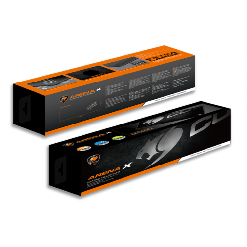 Mousepad Gamer Cougar Arena X Black Extended 100 x 40 cm - 3MARENAX.0001