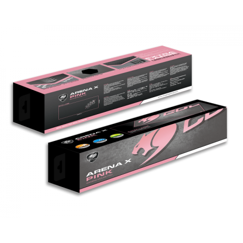 Mousepad Gamer Cougar Arena X Pink Extended 100 x 40 cm - 3MARENAP.0001