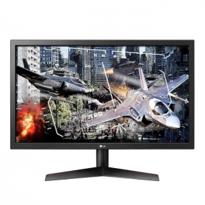 Monitor Gamer LG LED 24, HDMI/DisplayPort, FreeSync, 144Hz, 1ms, Ajuste de inclinação - 24GL600F-B