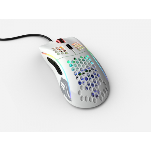Mouse Glorious Gaming Model D White Glossy (Branco Brilhante ) - GD-GWHITE