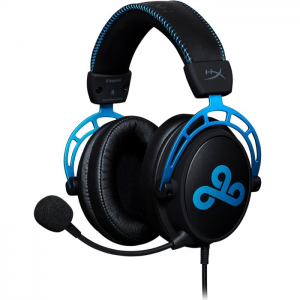 Fone Kingston HyperX Cloud Alpha Cloud9 Edition - HX-HSCAC9-BL