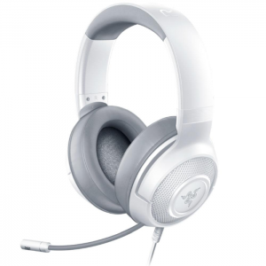 Fone Razer Kraken X Mercury White - Xbox One/PS4/Switch/PC - RZ04-02890300-R3U1