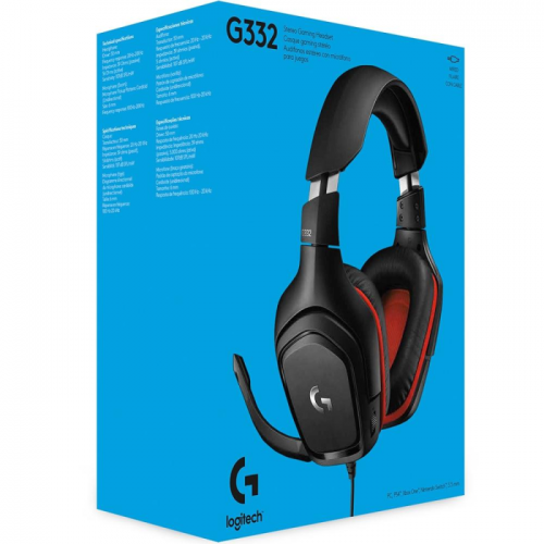 Fone Gamer Logitech G332 Drivers 50 mm Multi-Plataforma - 981-000755