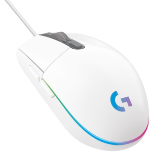 # BLACK NOVEMBER # Mouse Gamer Logitech G203 RGB Lightsync 8000 DPI Branco - 910-005794