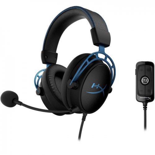 Fone Kingston HyperX Cloud Alpha S 7.1 USB Surround - HX-HSCAS-BL/WW