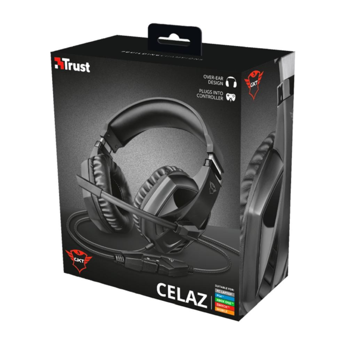 Fone Trust Gamer GXT 412 CELAZ Drivers 50mm - Ps4 / Xbox One / Pc