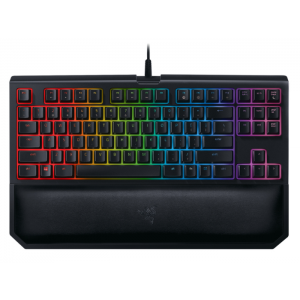 Teclado Razer BlackWidow Tournament Chroma V2 Switch Orange c/ Apoio Pulso