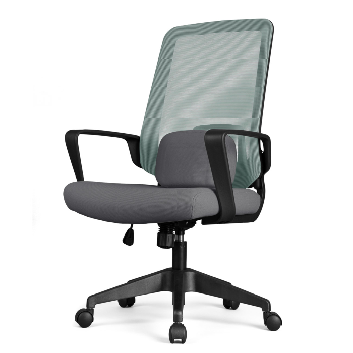 Cadeira Escritório DT3 Office Armeria Series Verana V2 Green/Grey - 12074-4