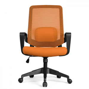 Cadeira Escritório DT3 Office Armeria Series Verana V2 Orange - 12075-5