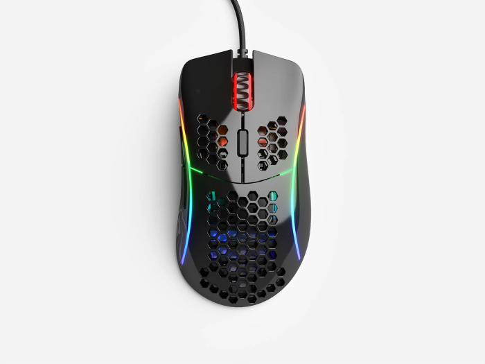 Mouse Glorious Gaming Model D Black Glossy (Preto Brilhante) - GD-GBLACK