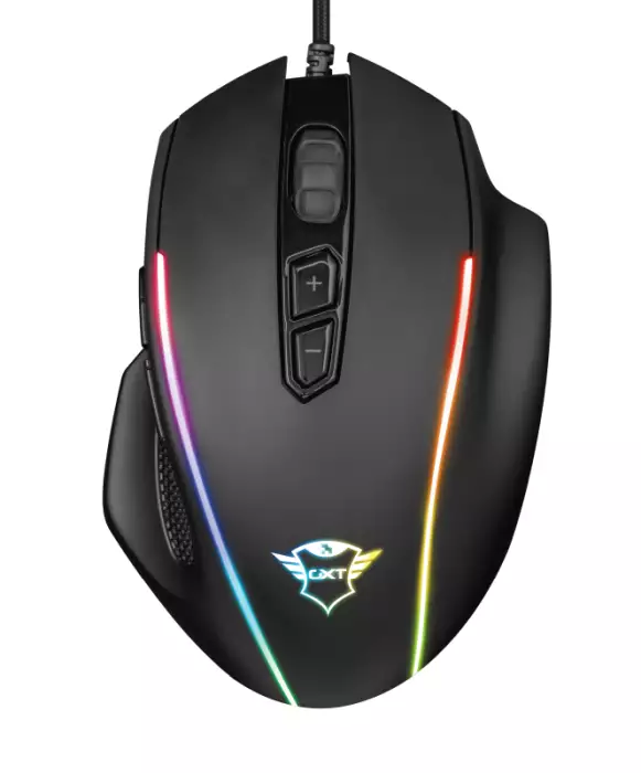 **OPENBOX**  Mouse Trust Gamer GXT 165 Celox Illuminated RGB 10.000 DPI