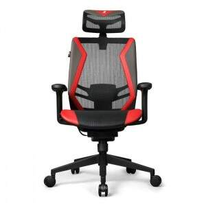 Cadeira Escritório DT3 Office Series Spider Red - 12057-5