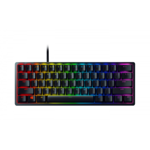 Teclado Razer Huntsman Mini Black Opto-Mechanical - Switch Clicky Purple