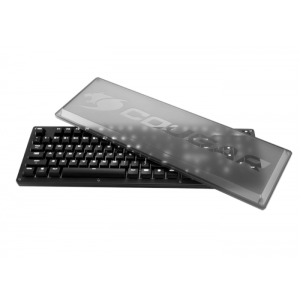 Teclado Mecânico Cougar Puri Switch Cherry MX Blue com Led Branco - 37PURM3SB.0004