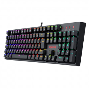 # BLACK NOVEMBER # Teclado Mecânico Gamer Redragon Surara Pro RGB Switch Redragon Optical Blue ABNT2 - K582RGB-PRO
