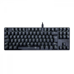 Teclado Mecânico Gamer T-Dagger Bora Switch Blue LED White ABNT2 - T-TGK313-BL