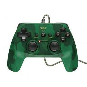 # BLACK NOVEMBER # Controle Trust GXT 540C Yula Camuflado p/ PC & PS3 - T23291