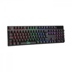 # BLACK NOVEMBER # Teclado Mecânico Dazz Cybertronic LED Rainbow Switch Content Blue ABNT2 - 625280