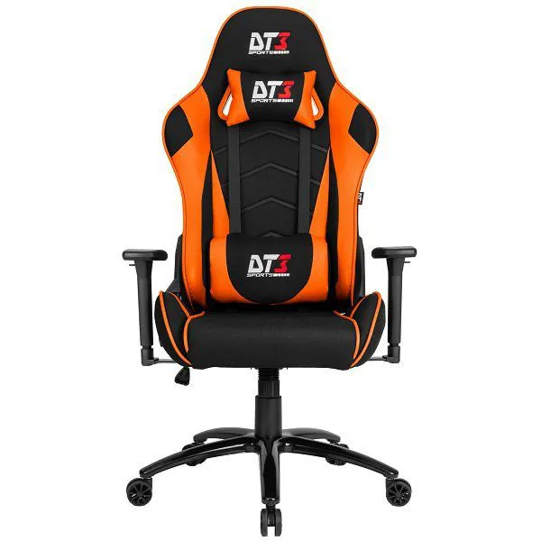 Cadeira Gamer DT3 Sports  Mizano Fabric Tecido Orange - 11360-1
