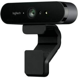 **OPENBOX** WebCam Logitech Brio 4K Pro Full HD Tecnologia HDR RightLight 3 - 960-001105