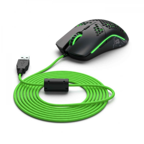 Cabo para Mouses Glorious Paracord Ascended Cable V2 Verde