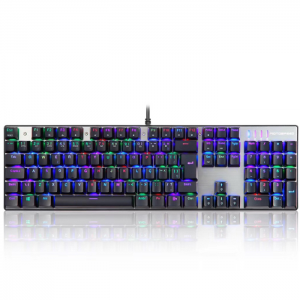 Teclado Mecanico Motospeed CK104 RGB Switch Outemu Blue ABNT2