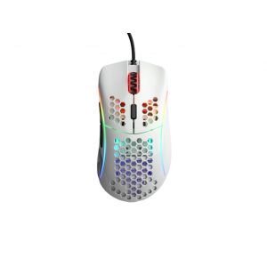 Mouse Glorious Gaming Model D- Minus White Glossy (Branco Brilhante) - GDM-GWHITE