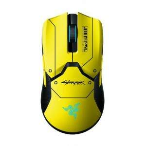 Mouse Sem Fio Razer Viper Ultimate Cyberpunk 77 Limited Edition Hyperspeed 20.000 dpi - 74 gramas