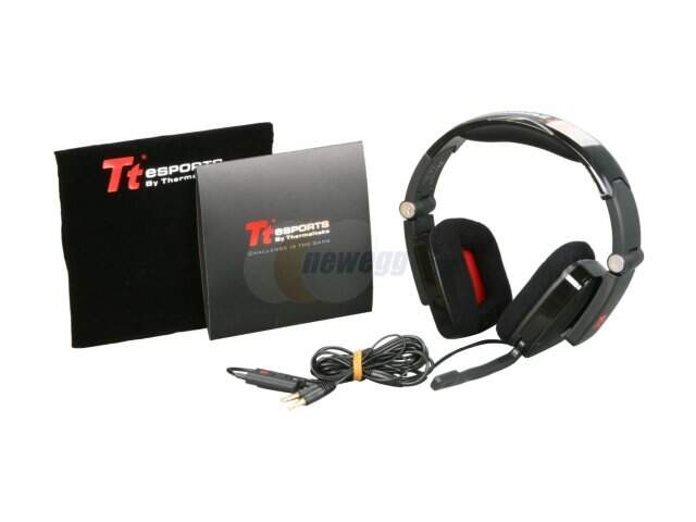 Fone Thermaltake eSPORTS Shock Black