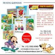 Kit querigma - Revistas Turma do Biblincando