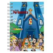 Mini Agenda permanente - Turma do Biblincando