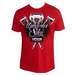 Camiseta Venum Wanderley The Axe Murder Silva Red