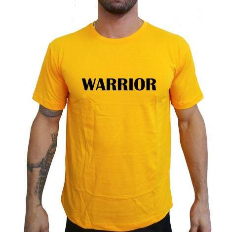 Camiseta Amarela Warrior
