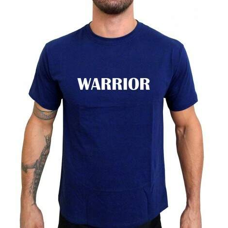 Camiseta Azul Warrior