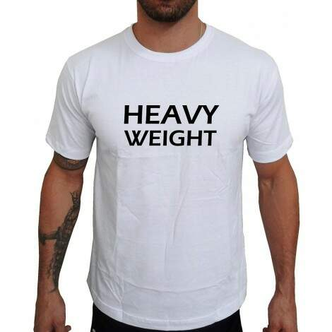 Camiseta Branca Heavy Weight