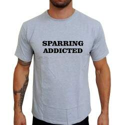 Camiseta Cinza Sparring Addicted