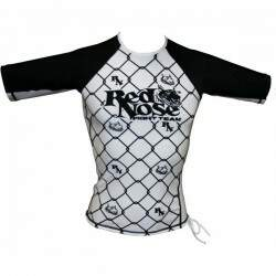 Camiseta Fight Red Nose Grade Branca - Rash Guard