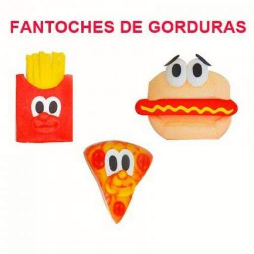 Kit Fantoches de gordura