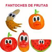 Kit Fantoches de Frutas
