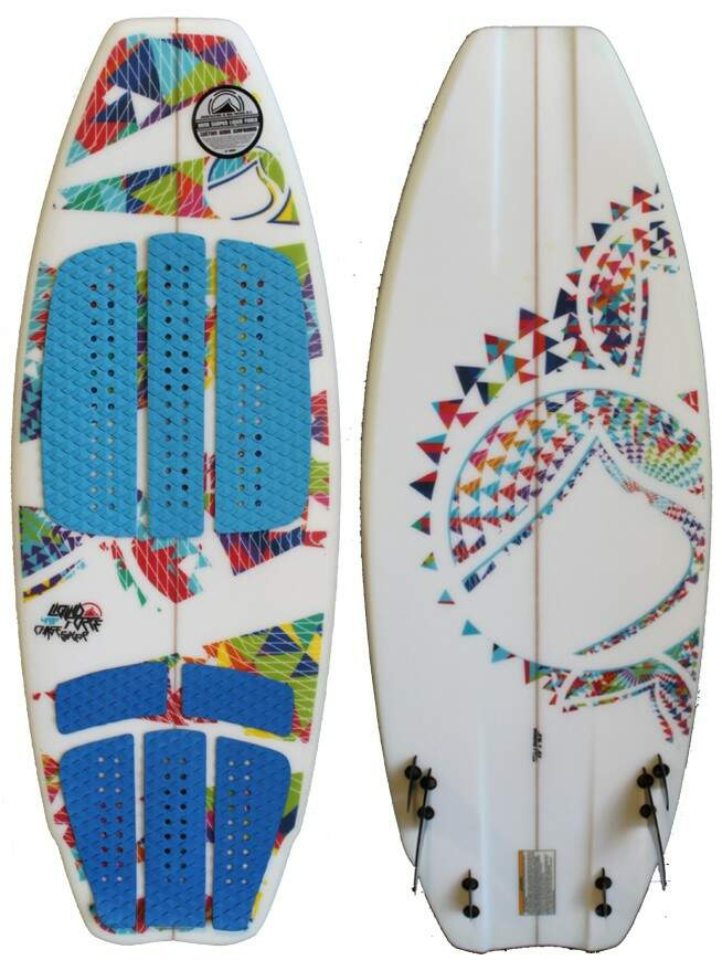 Liquid Force Wakesurf Chase Sixer Pró -  48 2013