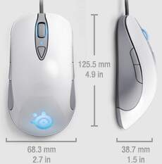 Mouse SteelSeries Sensei Raw Frost Blue