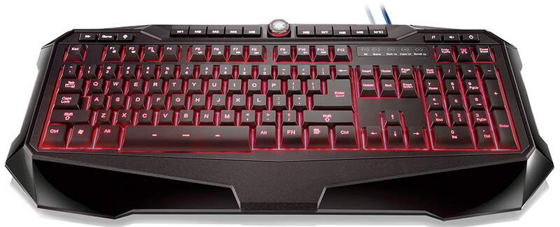 Teclado Multilaser Warrior Gamer Iluminated TC167