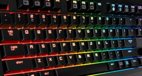 Teclado Razer BlackWidow Tournament CHROMA